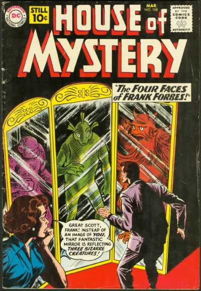 House of Mystery Vol 1 108