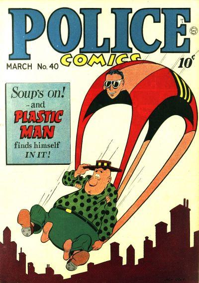 Police Comics Vol 1 40