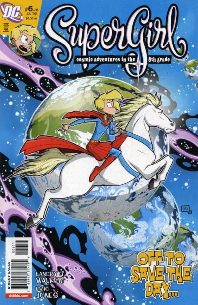 Supergirl: Cosmic Adventures in the 8th Grade Vol 1 6