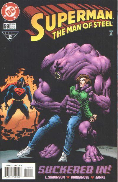 Superman: Man of Steel Vol 1 59