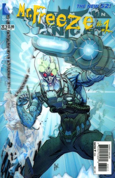 Batman: The Dark Knight Vol 2 23.2: Mister Freeze