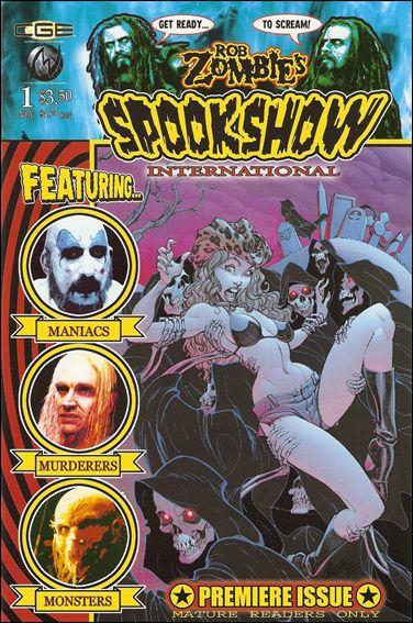 Rob Zombie's Spookshow International Vol 1 1