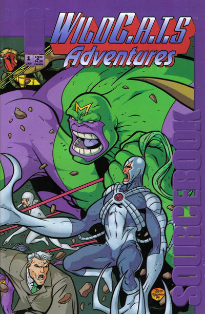 WildC.A.T.s Adventures Sourcebook Vol 1 1