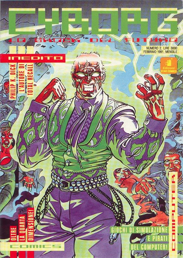 Cyborg (1991) Vol 1 2