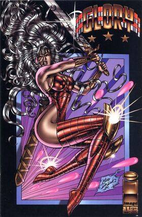 Cover for Glory #1 (1995)