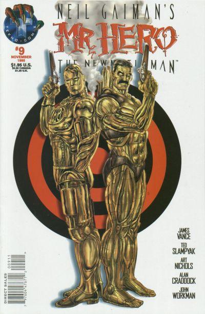 Neil Gaiman's Mr. Hero - The Newmatic Man Vol 1 9