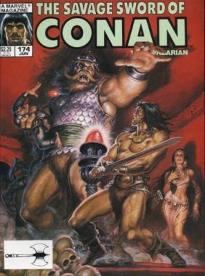 Savage Sword of Conan Vol 1 174