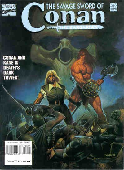 Savage Sword of Conan Vol 1 220