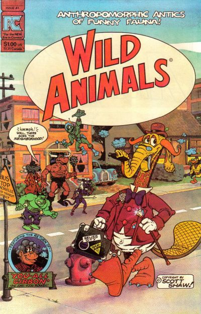 Wild Animals Vol 1 1