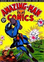 Amazing Man Comics Vol 1 8