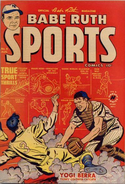 Babe Ruth Sports Comics Vol 1 8