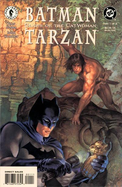 Batman/Tarzan: Claws of the Cat-Woman Vol 1 1