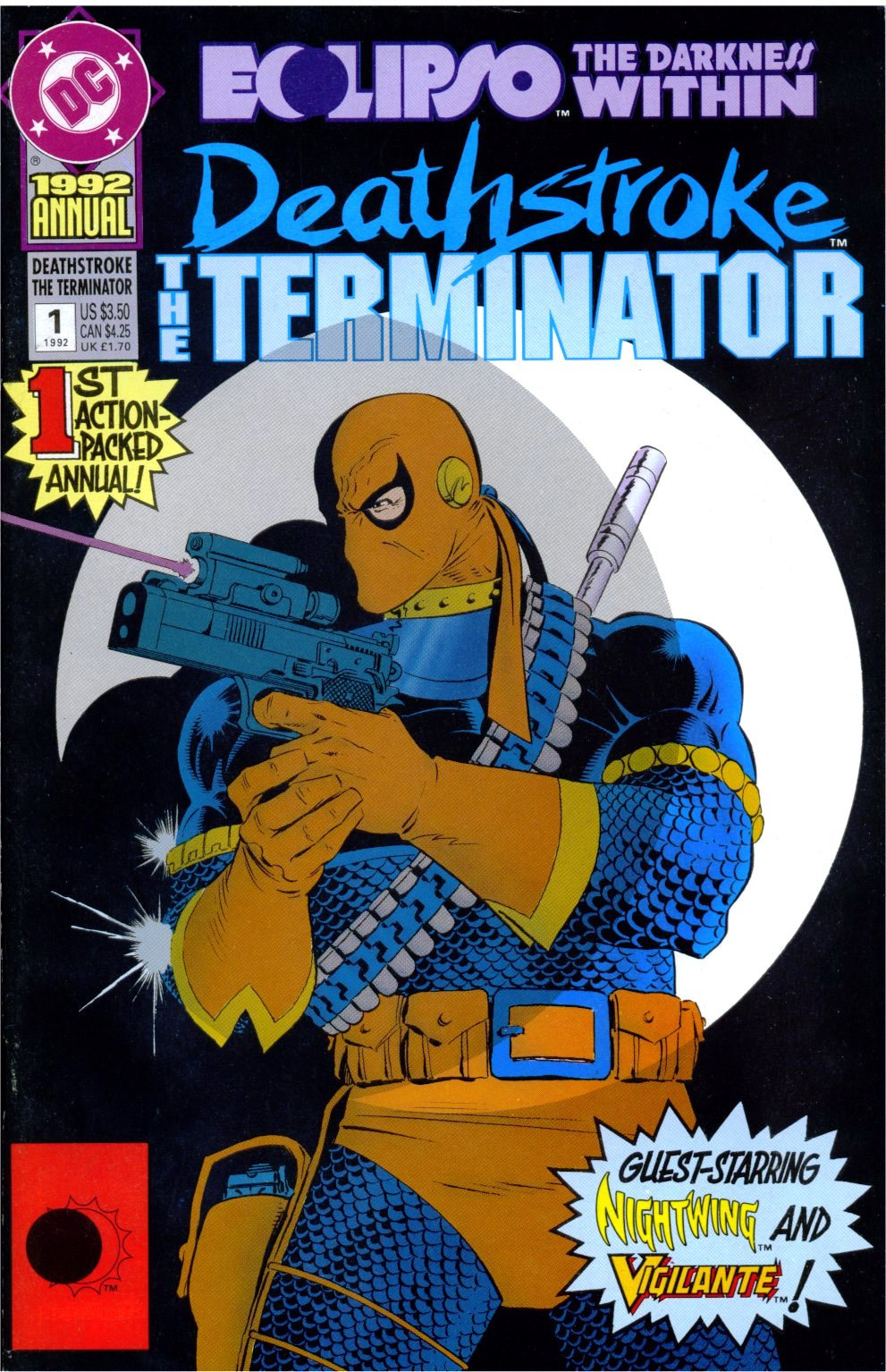 Deathstroke the Terminator Annual Vol 1 1