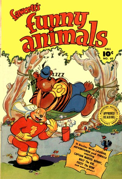 Fawcett's Funny Animals Vol 1 60