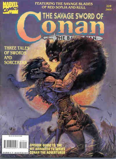 Savage Sword of Conan Vol 1 229