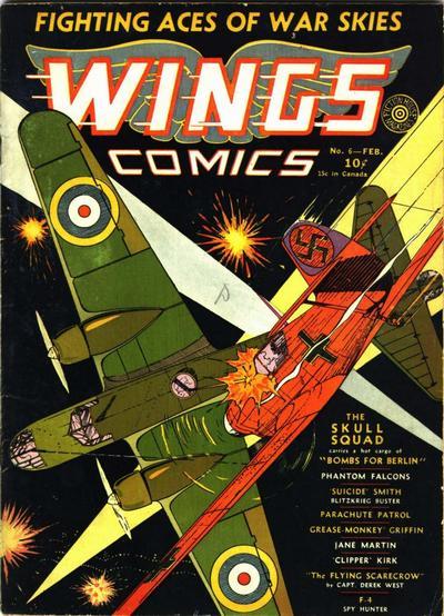 Wings Comics Vol 1 6