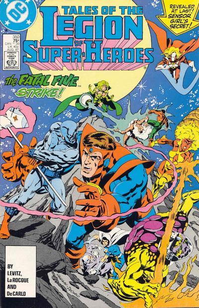 Legion of Super-Heroes Vol 2 350
