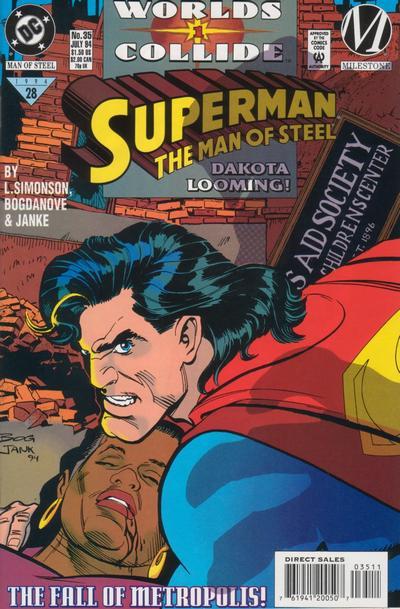 Superman: Man of Steel Vol 1 35