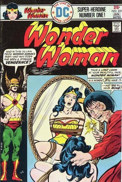 Wonder Woman Vol 1 221