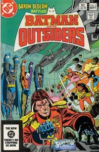 Batman and the Outsiders/Covers
