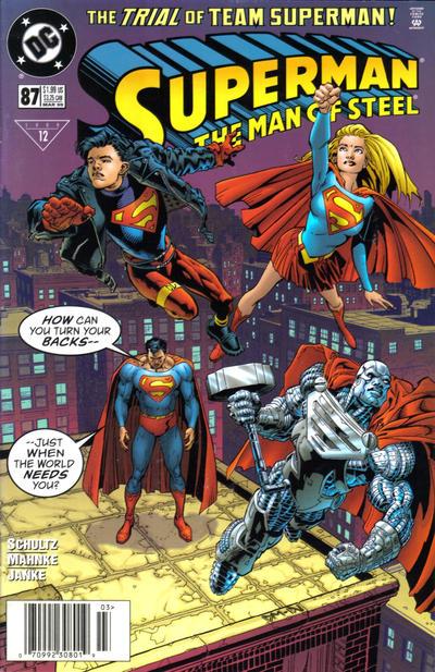 Superman: Man of Steel Vol 1 87