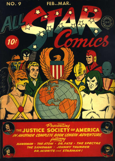 All-Star Comics Vol 1 9