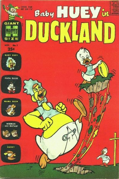 Baby Huey in Duckland/Covers