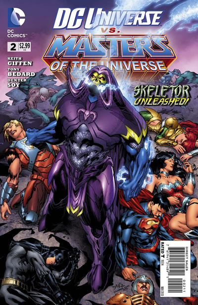 DC Universe vs. The Masters of the Universe Vol 1 2