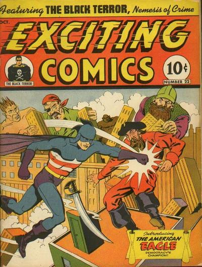 Exciting Comics Vol 1 22