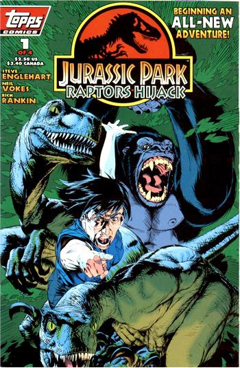 Jurassic Park: Raptors Hijack Vol 1 1