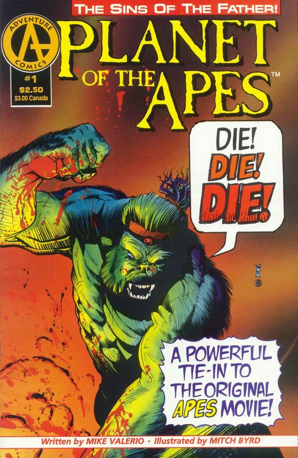 Planet of the Apes: Sins of the Father Vol 1