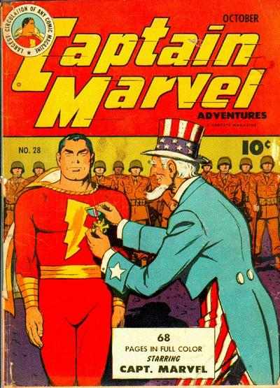 Captain Marvel Adventures Vol 1 28