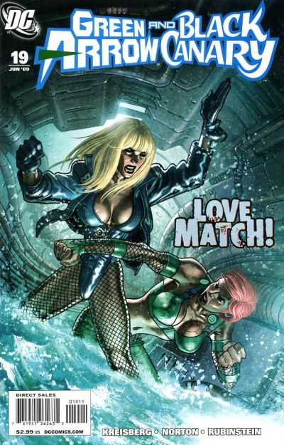 Green Arrow and Black Canary Vol 1 19