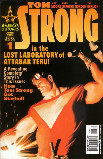 Tom Strong/Covers