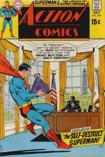 Action Comics Vol 1 390