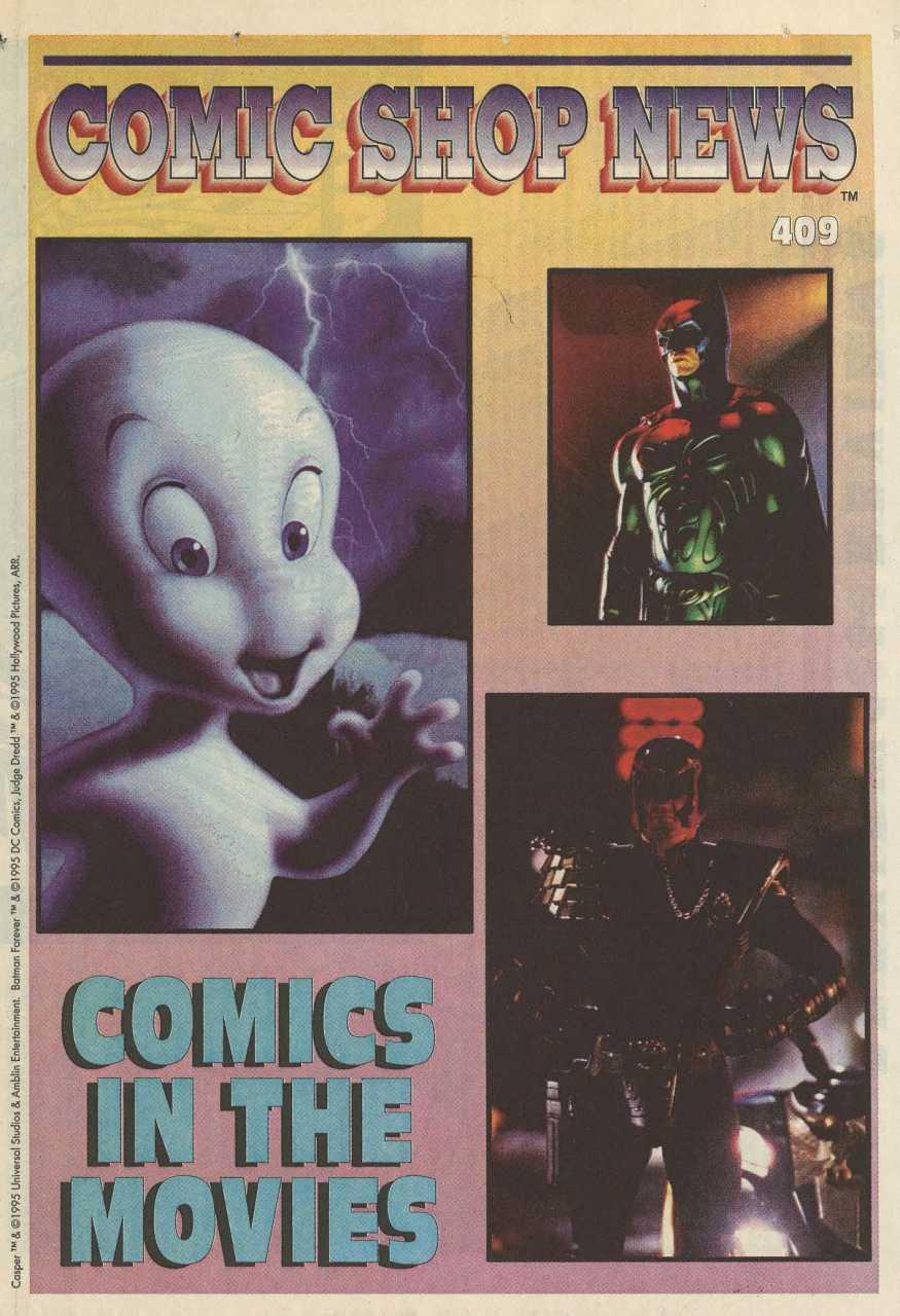 Comic Shop News Vol 1 409