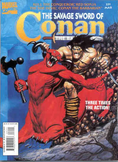 Savage Sword of Conan Vol 1 231