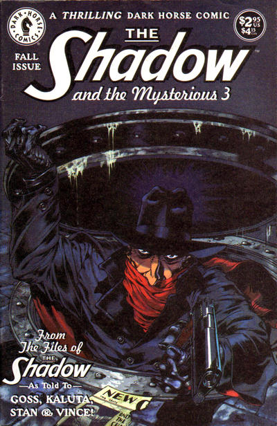 The Shadow and the Mysterious 3 Vol 1 1