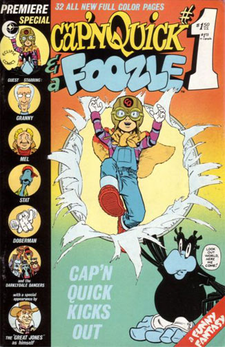 Cap'n Quick and a Foozle Vol 1 1