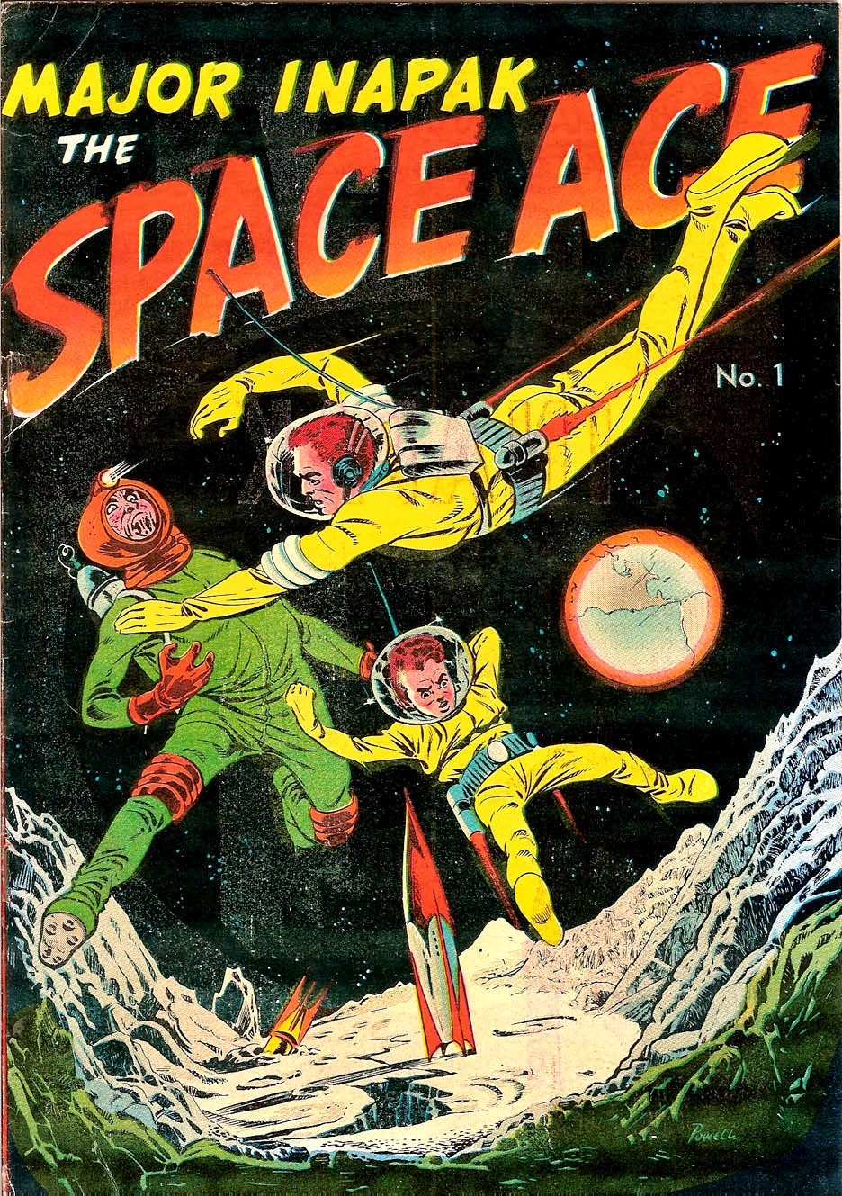 Major Inapak the Space Ace Vol 1