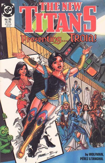 New Titans Vol 1 55