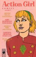 Action Girl Comics Vol 1 3