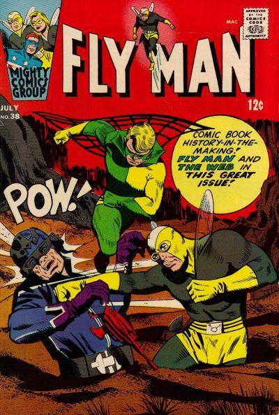 Fly Man Vol 1 38