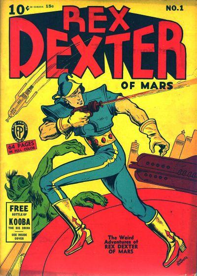 Rex Dexter of Mars Vol 1