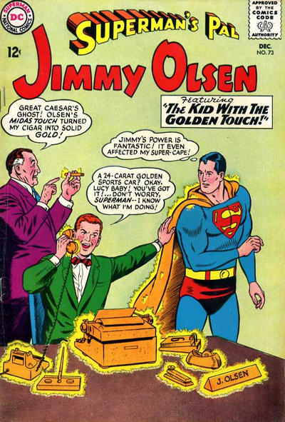 Superman's Pal, Jimmy Olsen Vol 1 73