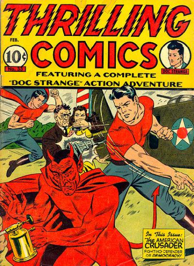 Thrilling Comics Vol 1 33
