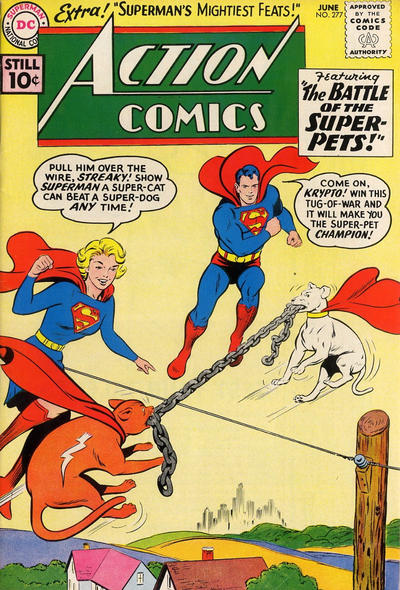 Action Comics Vol 1 277