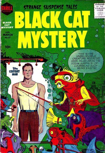 Black Cat Comics Vol 1 57