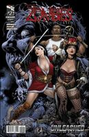Grimm Fairy Tales Presents Zombies The Cursed Vol 1 2