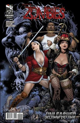 Grimm Fairy Tales Presents Zombies: The Cursed Vol 1 2